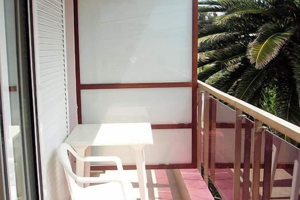 Dvojlôžková izba s panoramatickým výhľadom, 1 spálňa, fajčiarska izba, výhľad na more - Balkón