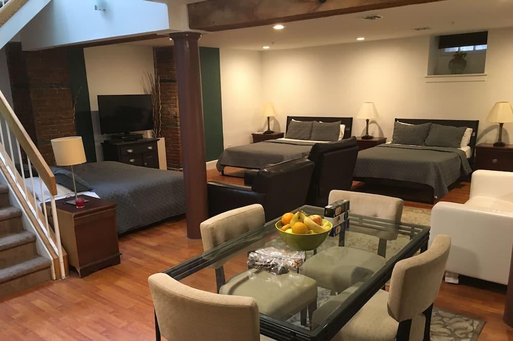 Appartement Standard, 2 chambres - Restauration dans la chambre