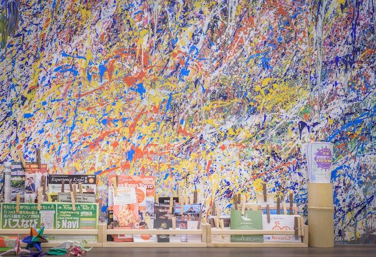 摺紙旅館 - 青年旅舍, Kyoto, 大廳酒廊