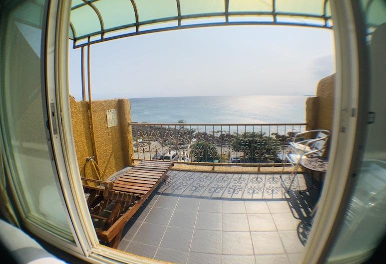 屏東岩手旅店, 恆春鎮, 家庭四人房, 2 張標準雙人床, 陽台, 海景, 客房
