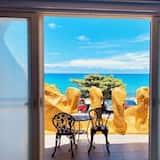 Deluxe-dobbeltværelse - 1 dobbeltseng - balkon - havudsigt - Altan