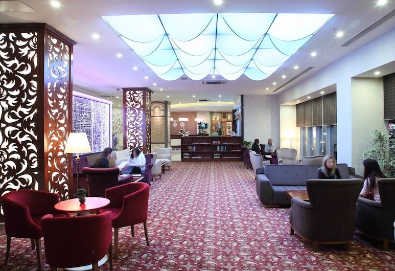 Otel Senbayrak City, Adana, Priestory na sedenie v hale