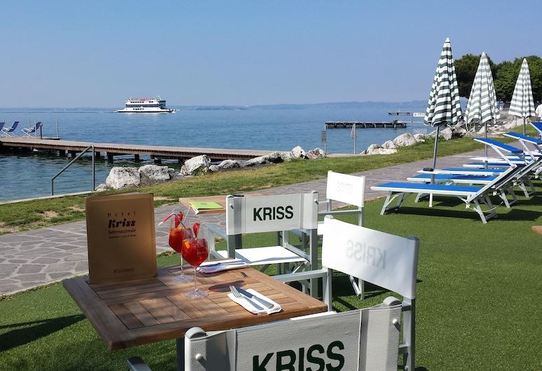 Hotel Kriss Internazionale, Bardolino, Spiaggia