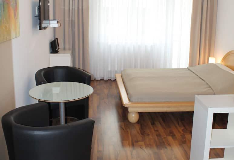Vienna's Place Studio-Apartments Karlsplatz, Bécs, City stúdió, konyharész, Nappali rész