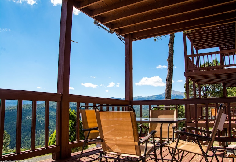 Tiara Del Sol Condos, Ruidoso, Panoramic-Apartment, 1 Schlafzimmer, Bergblick, Bergseite, Balkon