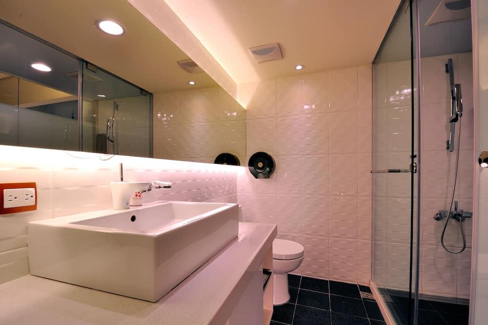 ห้องซูพีเรียสำหรับสี่ท่าน - ห้องน้ำ