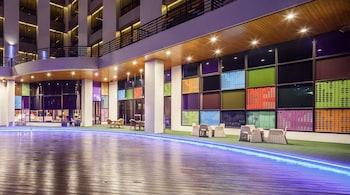 ภาพ โรงแรมฟรีดอมดีไซน์ ใน เมืองเถาหยวน