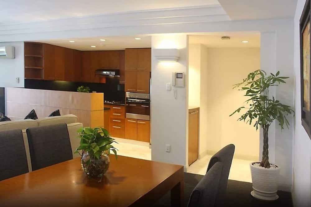 Deluxe apartman, 2 hálószobával - Nappali