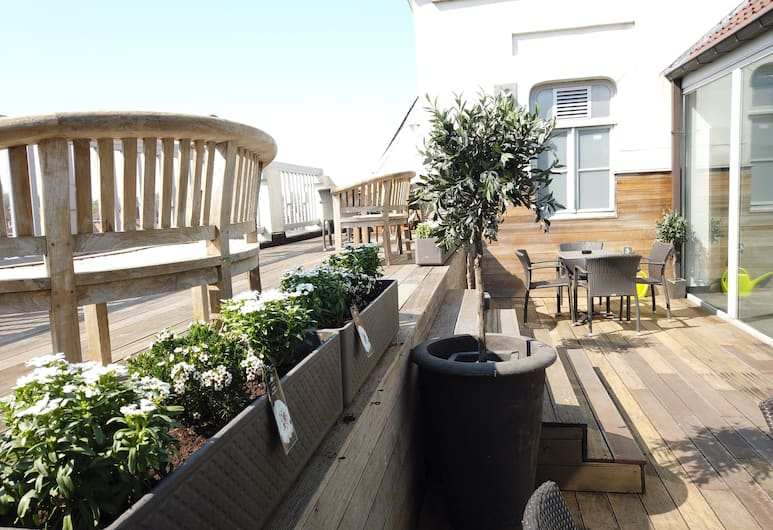 Hotel 't Zand, Brugge, Terrasse/veranda