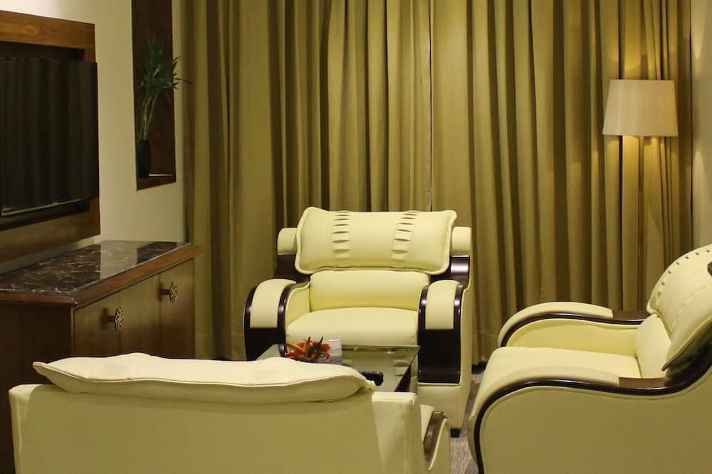 Quarto Executivo, 1 cama king-size - Sala de Estar