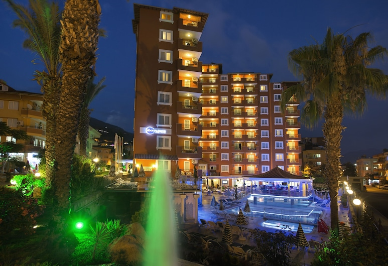 Villa Moonflower Aparts & Suites - All Inclusive, Alanya, Hotelli territoorium