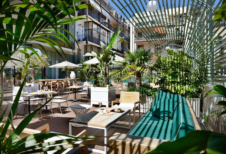Cotton House Hotel, Autograph Collection, Barcelona, Terrasse/veranda