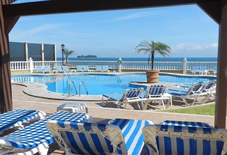 Hotel Villa Florida Veracruz, Boca del Río, Terraza o patio