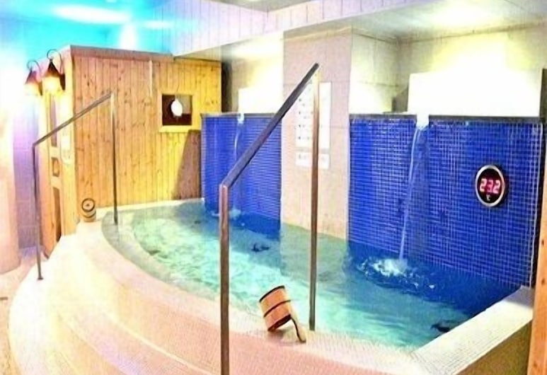 スパ&サウナ ホテル日立プラザ, 日立市, 屋内スパ浴槽