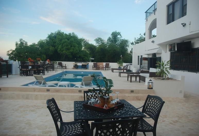 E&J Boutique Residences, Sosua, Junior Suite, Garden View, Terrace/Patio