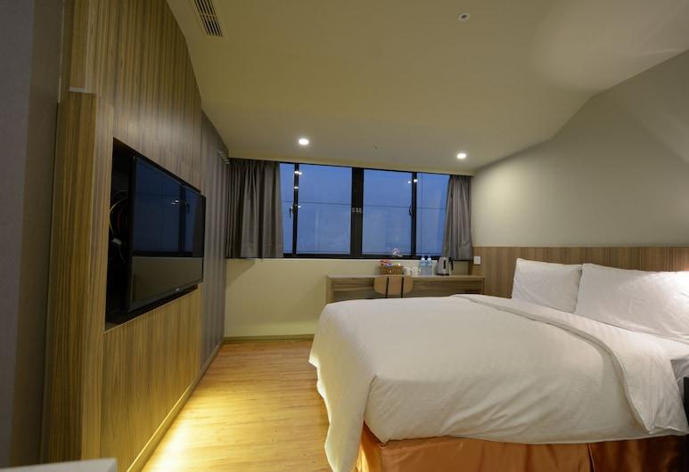 台北市詩漫精品旅館, 台北市, 豪華雙人房, 客房