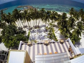 Bild vom Crystal Sands Beach Hotel auf Maafushi