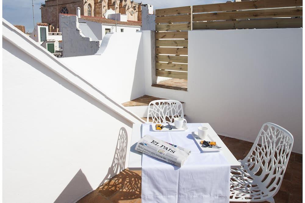 Doppelzimmer - Terrasse/Patio