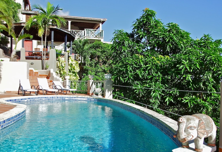 Arca Villa and Bed and Breakfast, Falmouth Harbour, Outdoor Pool