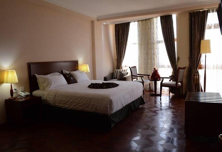 Bole Skygate Hotel, Addis-Abeba, Suite Deluxe, Vue depuis la chambre