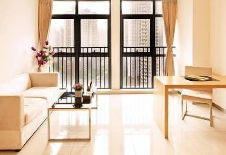 Xing Yi International Hotel Apartment, Guangzhou, Bilik