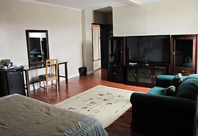Barons Motor Inn, Carleton Place, Soba, 2 bračna kreveta, Pogled iz sobe