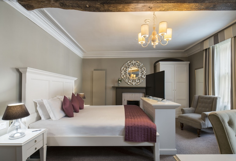 Vanbrugh House Hotel, Oxford, Superior Double Room, Guest Room