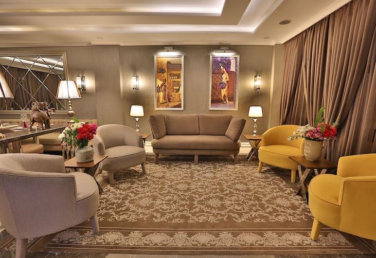 Bon Design & Suite, Istanbul, Sitteområde i lobbyen
