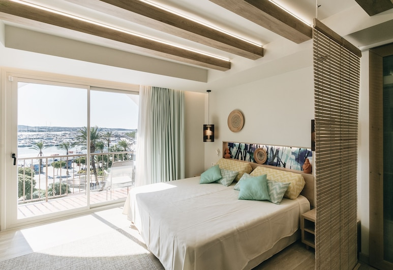 The White Apartments by Ibiza Feeling - Adults Only, Sant Anotnio de Portmany, พรีเมียมสตูดิโอ, วิวจากห้องพัก