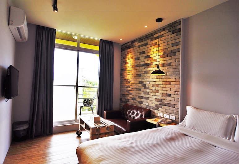 墾丁馬丁威旅店, 恆春鎮, 陽台雙人房, 客房