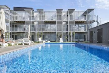 ภาพ Visby Lägenhetshotell  ใน วิสบี