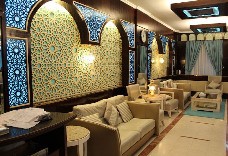 Mount Royal Hotel, Dubái, Zona con asientos del vestíbulo