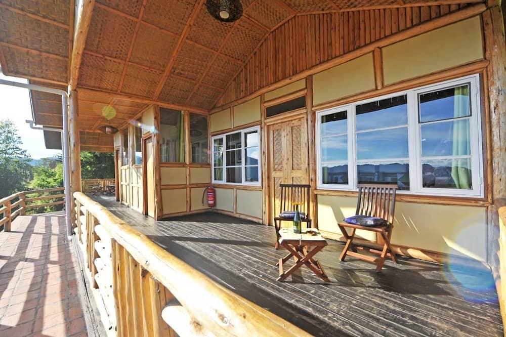 Domek letniskowy Deluxe, 1 sypialnia, widok na wzgórze - Balkon