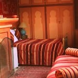 Premium Suite, Fireplace - Living Area