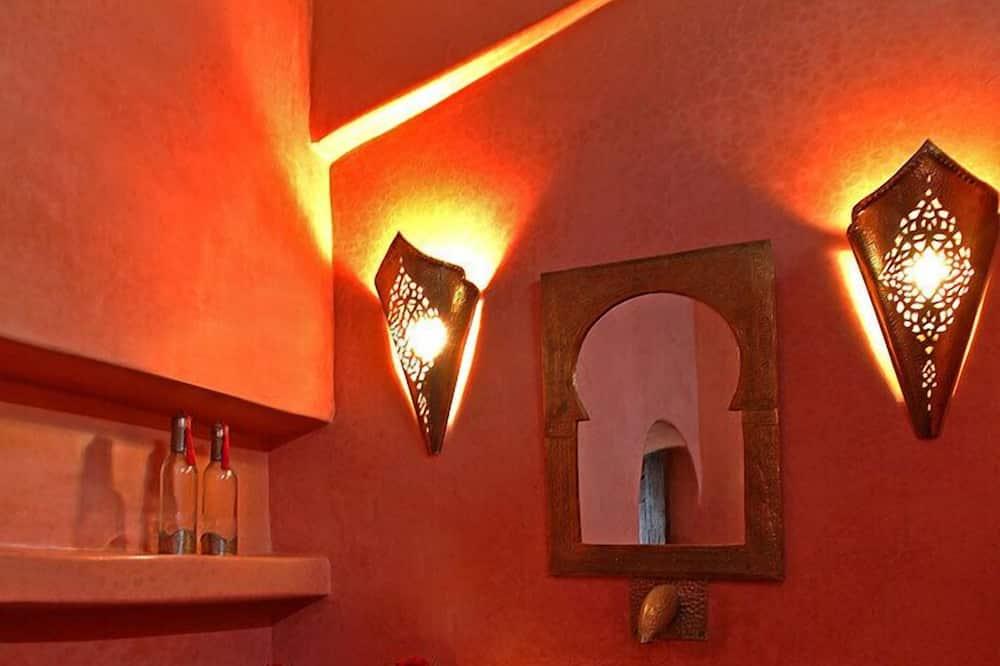 豪華雙人房, 1 間臥室 (Babouche) - 浴室洗手台