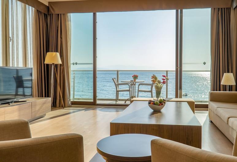 Ladies Beach Residence Family Suites, Kuşadası, Penthouse, 2Schlafzimmer (Sunset), Zimmer