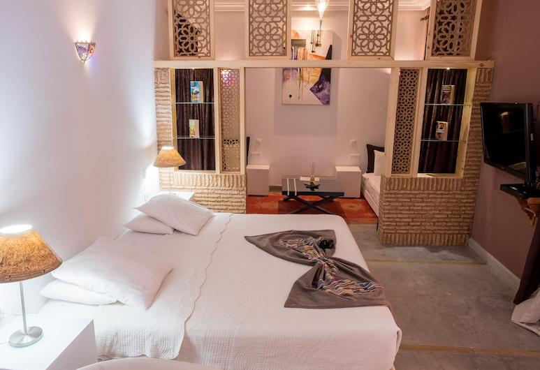 리야드 사마린, 마라케시, 프리미엄 스위트, 침실 1개, 전용 욕실, 이그제큐티브층, 객실