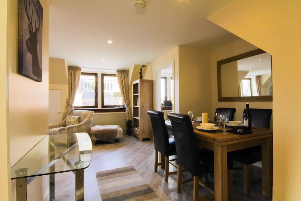 พรีเมียมอพาร์ทเมนท์, 2 ห้องนอน, วิวแม่น้ำ - พื้นที่นั่งเล่น
