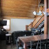 Luxury-mökki, 3 makuuhuonetta, Keittiö, Vuoristonäköala - Ruokailu omassa huoneessa