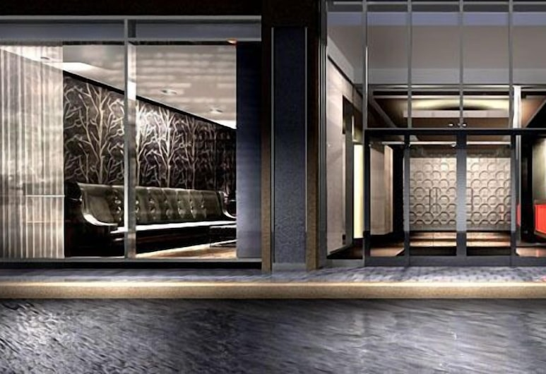 Life Suites Luxury Downtown Condos, Toronto, Front of property - evening