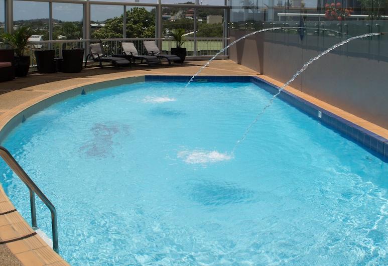 格萊斯頓摩羯公寓飯店, 格拉斯頓, 游泳池
