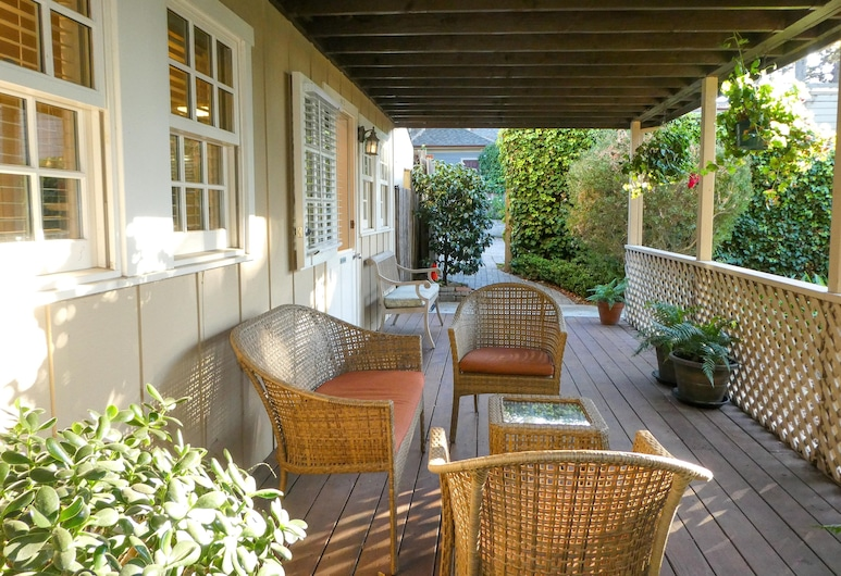 Carmel Fireplace Inn, Carmel, Rekreační domek, 1 ložnice, kuchyně, Terasa