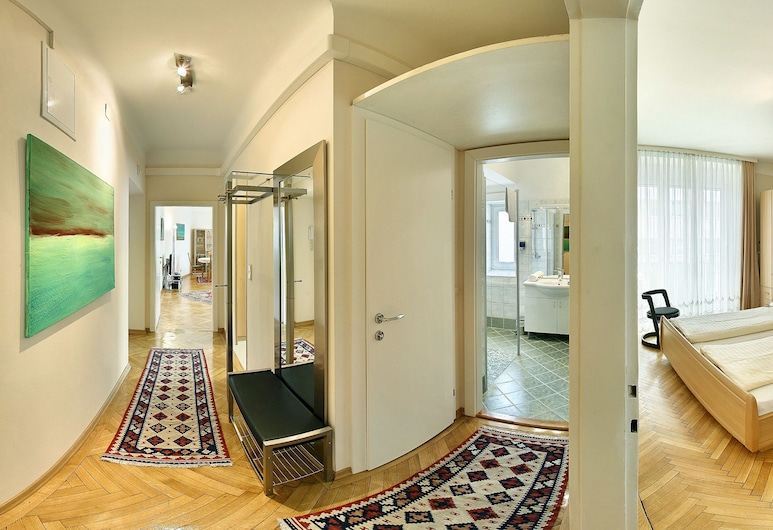 Central Apartments Vienna (CAV), Viena, Apartamento (Nr. 6), Quarto