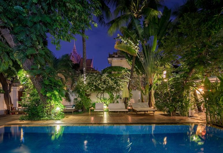 朗卡精品別墅酒店, 金邊, 泳池