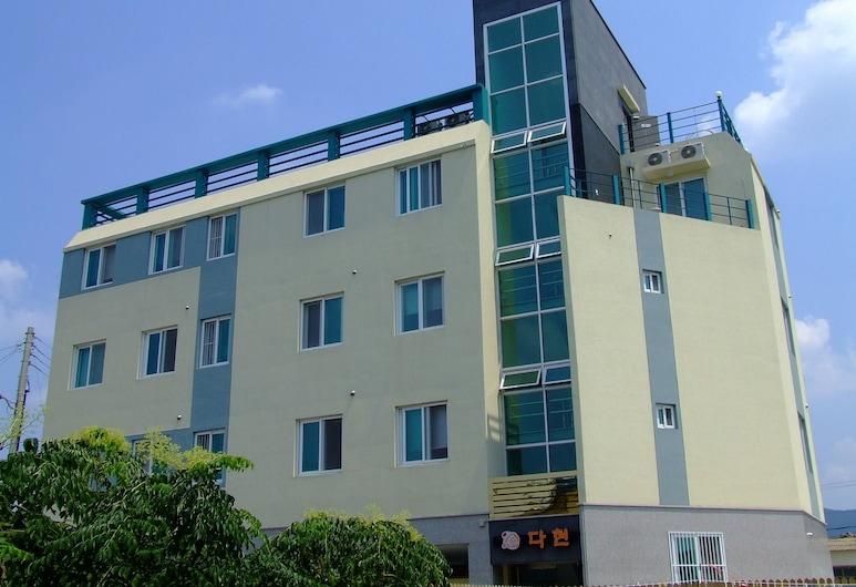 大賢青年旅館, 慶州, 飯店正面