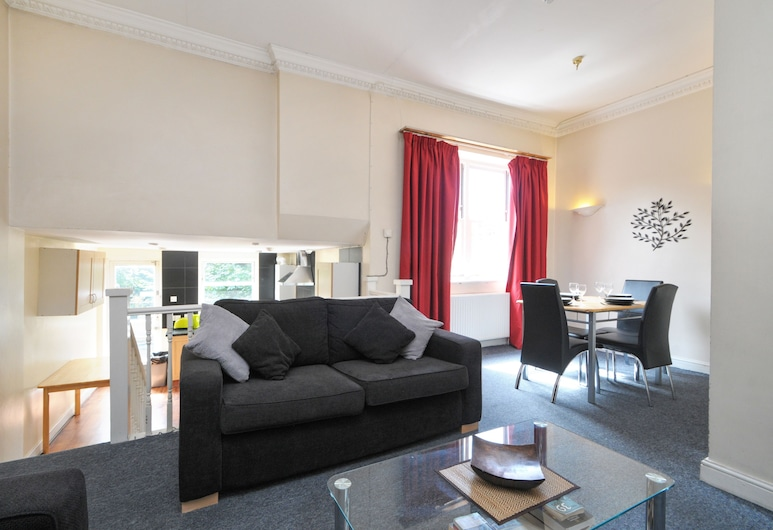 Access Maida Vale, London, Standard-Apartment, 2Schlafzimmer (for 4 people), Wohnbereich