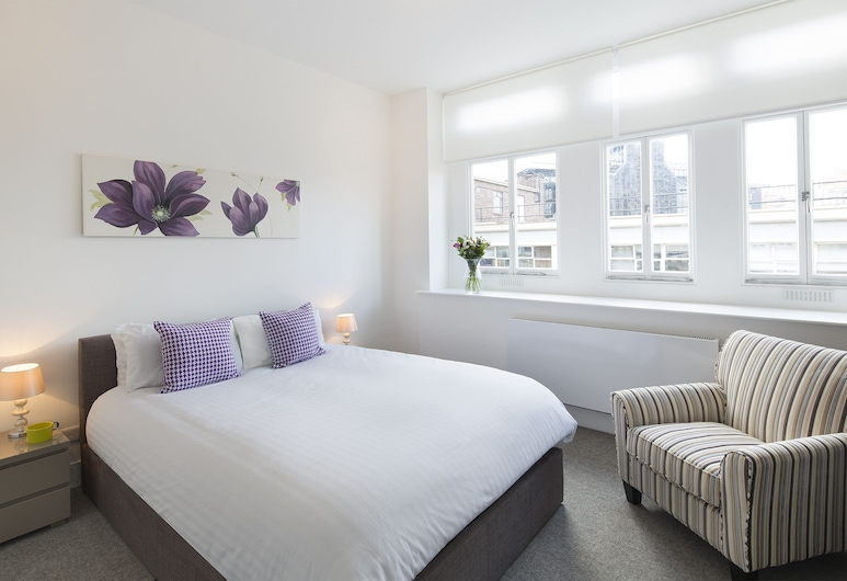 Shoreditch One, London, Premium-Apartment, 1 Schlafzimmer, Zimmer