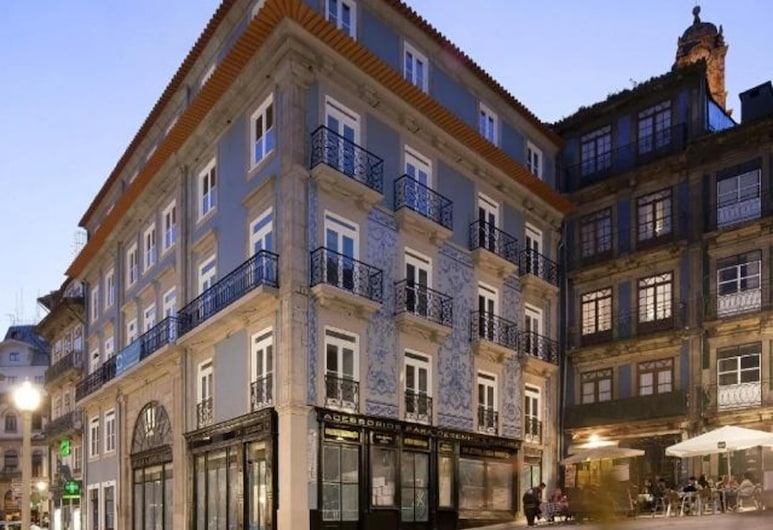 Porto A.S. 1829, Porto, Façade de l'hôtel - Soir/Nuit