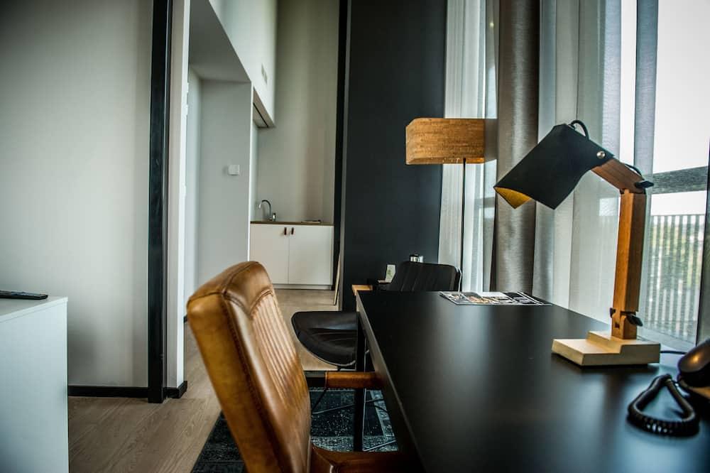 Apartament, 2 łóżka pojedyncze, balkon - Powierzchnia mieszkalna