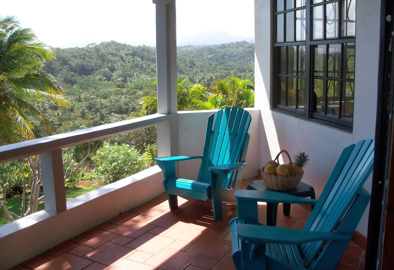 Sea Cliff Cottages, Calibishie, Deluxe Cottage, 1 Bedroom, Balcony